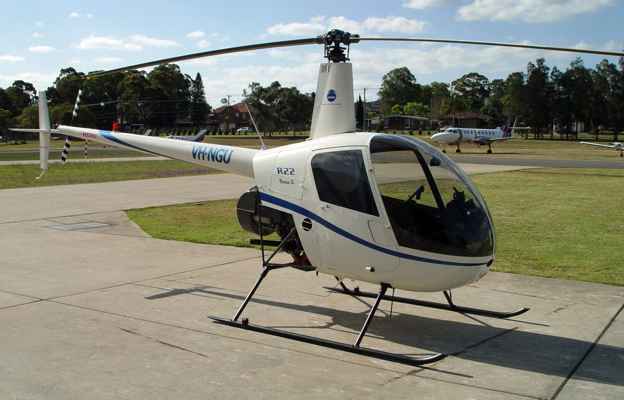 Noleggio elicotteri: Helicopter Robinson